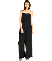 Tibi - Mila Silk Color Block Jumpsuit