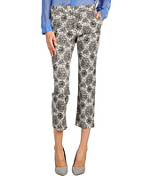 Tibi - Natalia Printed Denim Easy Pant