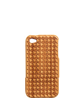 würkin stiffs - Houndstooth Bamboo Phone Cover