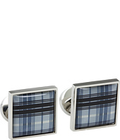 würkin stiffs - Plaid Grey Cufflinks