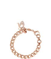 Fossil - Vintage Steel Charm Bracelet
