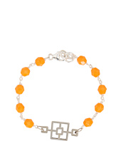 I Adorn U - Orange Cinder Block Party Bracelet