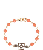 I Adorn U - Coral Bronze Cinder Block Party Bracelet