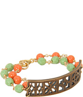 I Adorn U - Minty & Coral City Block Party Bracelet