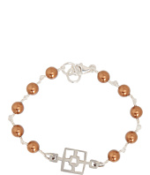 I Adorn U - Copper Cinder Block Party Bracelet