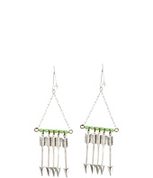 I Adorn U - Arrows and Mint Earring