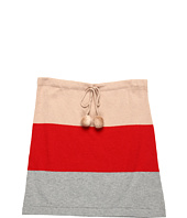 Toobydoo - Girls' Stretch Pom Pom Skirt (Toddler/Little Kids/Big Kids)