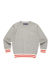 Toobydoo - Boys' Grey Crew w/ Pocket (Little Kids/Big Kids)