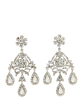 Nina - Sage Flower Oversized Chandelier Earrings