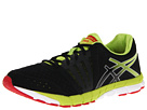 ASICS - GEL-Lyte33 2 (Black/Lime/Red) - Footwear