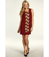 Jessica Simpson - Sleeveless Contrast Panel Dress