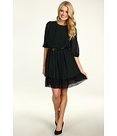 Jessica Simpson - Tiered Skirt Dress Puff Sleeve