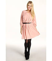 Jessica Simpson - Long Sleeve Pintuck Dress