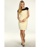 Jessica Simpson - Contrast Yoke Asymmetrical Dress