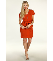 Jessica Simpson - Zip Front Tie Waist Pocket Dress