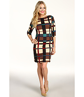 Jessica Simpson - Tartan Boatneck Drop Waist Dress