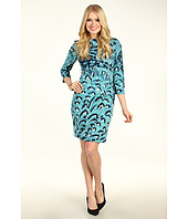 Jessica Simpson - Starburst Pleat Long Sleeve Dress