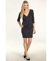 Jessica Simpson - Exposed Zip Gathered Bodice Dress