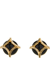 Judith Jack - 60196627 Gold Matrix PE Button Earring