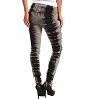 Joe's Jeans - The Skinny in Black Storm Tye Dye