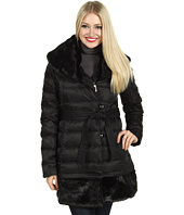 Ivanka Trump - Faux Fur Collar and Hem Down Coat