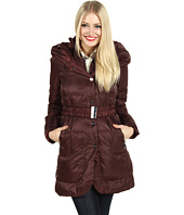 Ivanka Trump - Hooded Knit Collar Down Coat