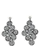 Betsey Johnson - Jet Bow Chandelier Earrings