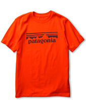Patagonia Kids - Boys' Stamp Logo T-Shirt (Little Kids/Big Kids)