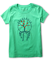 Patagonia Kids - Girls' Woven Flowers T-Shirt (Little Kids/Big Kids)