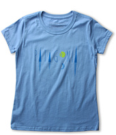Patagonia Kids - Girls' Moonscape Logo T-Shirt (Little Kids/Big Kids)