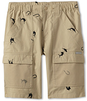 Columbia Kids - Half Moon™ Embroidered Short (Little Kids/Big Kids)