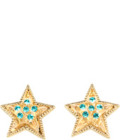 Betsey Johnson - Heaven's To Betsey Lucite Star Stud Earrings