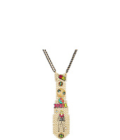 Betsey Johnson - '60s Mod Power Girl Charm Tie