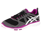 ASICS - GEL-Sustain TR (Black/White/Orchid) - Footwear