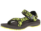 Teva Kids - Hurricane 2 (Toddler/Youth) (Camo Green) - Footwear