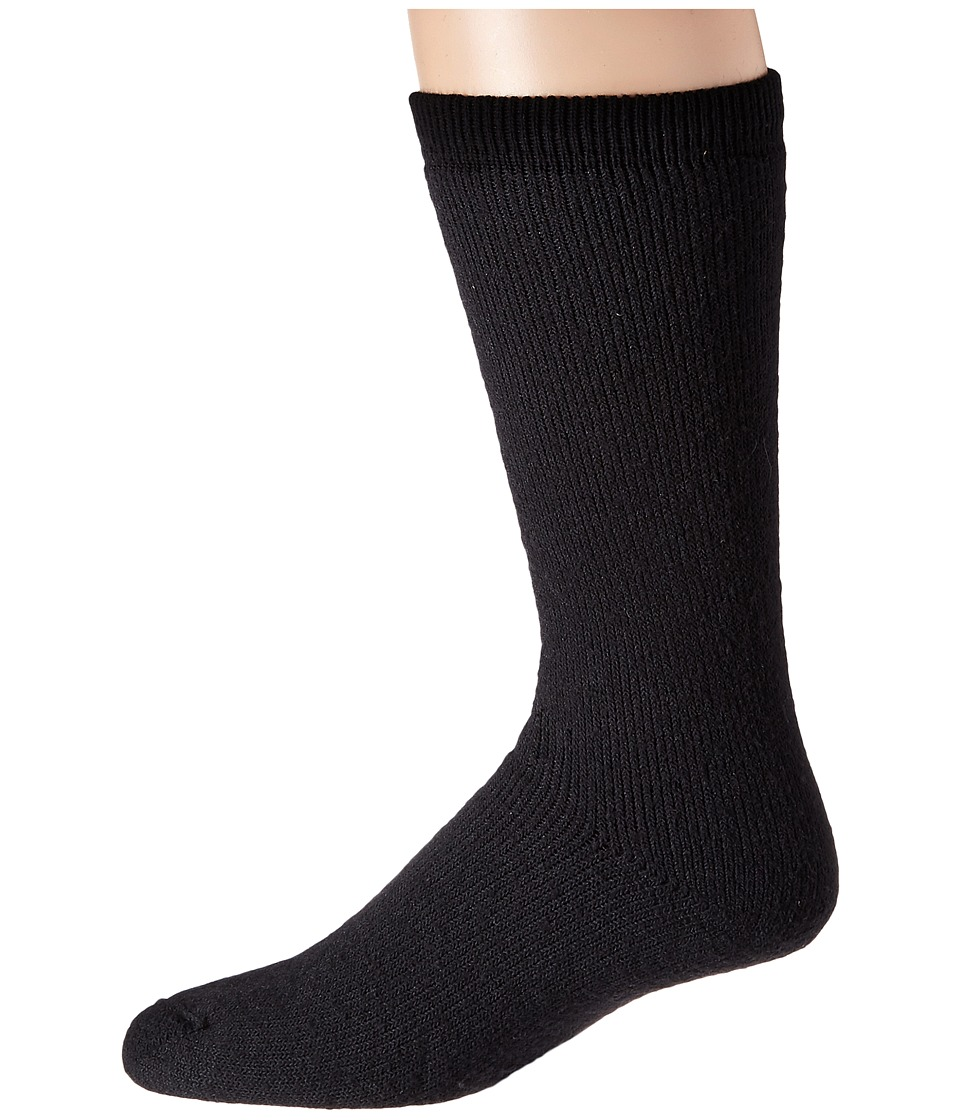 Wigwam - 40 Below 3-Pair Pack (Black) Crew Cut Socks Shoes