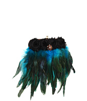 Inspired by Claire Jane - Peacock Feather Purse