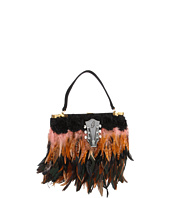 Inspired by Claire Jane - Boudoir Brown Feather Purse