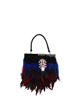 Inspired by Claire Jane - English Electric Feather Purse