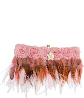 Inspired by Claire Jane - Femme Fatale Feather Purse