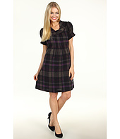 Jessica Howard - 1 Piece Puff SS Roll Neck Tucked Front Dress