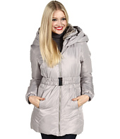 Ivanka Trump - Faux Fur Collar Belted Down Coat