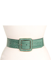MICHAEL Michael Kors - Michael Kors 50m Square Inlay Buckle In Croc