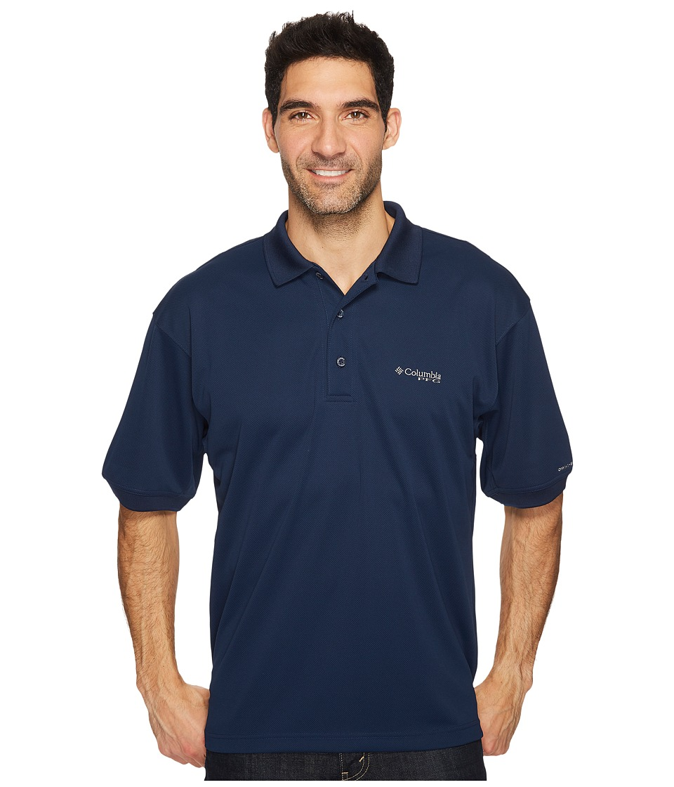 Columbia - Perfect Casttm Polo (Collegiate Navy) Mens Short Sleeve Pullover
