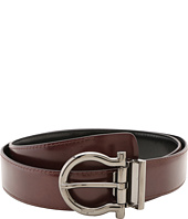 Salvatore Ferragamo - Reversible/Adjustable Gancio Belt