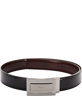 Salvatore Ferragamo - Signature Plaque Buckle Adjustable/Reversible Belt (678548)