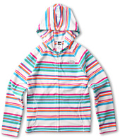 The North Face Kids - Girls' Glacier Striped Full Zip Hoodie 13 (Little Kids/Big Kids)