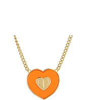 Betsey Johnson - Status Heart Pendant