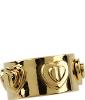 Betsey Johnson - Status Heart Embellished Ring