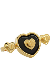 Betsey Johnson - Status Multi Heart 2 Finger Ring